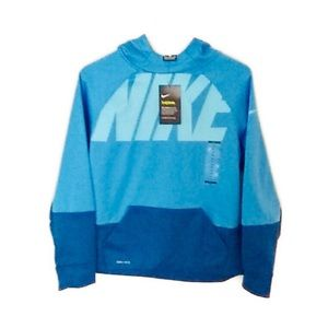 NWT Nike Therma Youth Boy's Color-block Hoodie